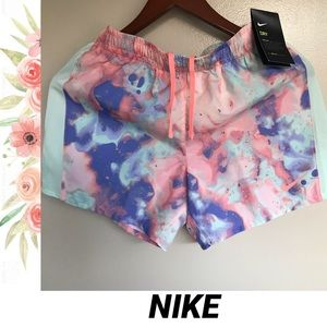 NWT NIKE Running Shorts Girls XL